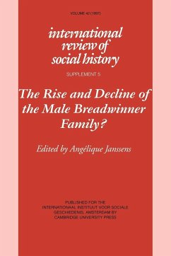 The Rise and Decline of the Male Breadwinner Family?: Studies in Gendered Patterns of Labour Division and Household Organisation - Janssens, Angelique (ed.)