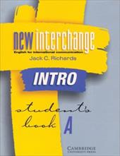 New Interchange Intro Student's Book a: English for International Communication - Richards, Jack C.