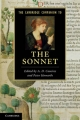 Cambridge Companion to the Sonnet - A. D. Cousins; Peter Howarth