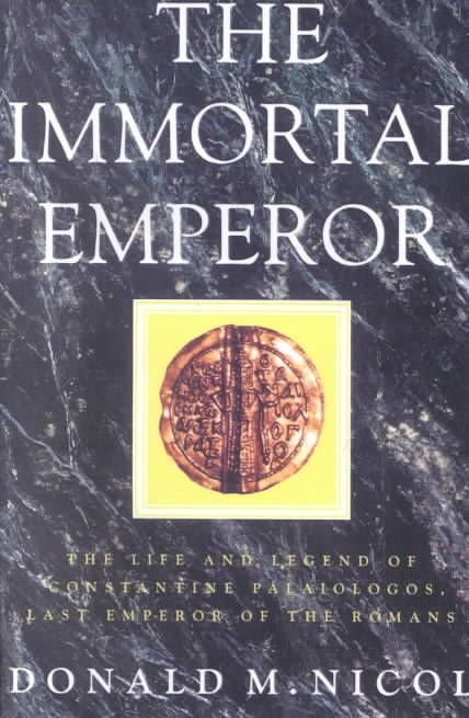 The Immortal Emperor - Donald M. Nicol