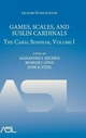 Games, Scales and Suslin Cardinals: The Cabal Seminar Volume I - Alexander S. Kechris; Benedikt Lowe; John R. Steel