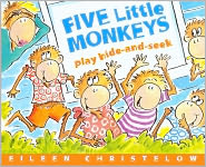 Five Little Monkeys Play Hide-and-Seek (Turtleback School & Library Binding Edition) - Eileen Christelow