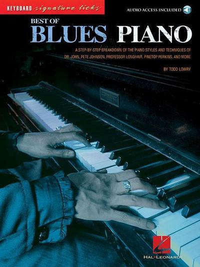 Lowry, T: BEST OF BLUES PIANO