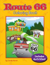 Route 66 Coloring Book - Marsh, Carole / Ford, Yvonne / DeJoy, Vicki