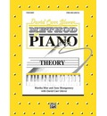David Carr Glover Method for Piano Theory - Martha Mier