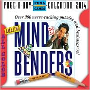 2014 Amazing Mind Benders Calendar - From the Folks at Puzzability