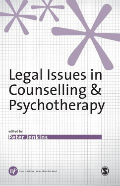 Legal Issues in Counselling and Psychotherapy - Jenkins, Peter (ed.)