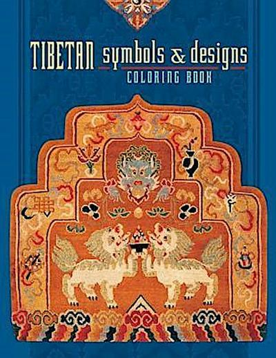 Tibetan Symbols & Designs Coloring Book - Pomegranate Communications Inc