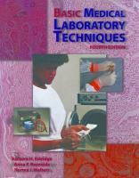 Basic Medical Laboratory Techniques