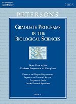 Peterson's Graduate Programs in the Biological Sciences
