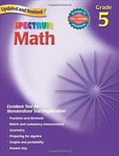Spectrum Math: Grade 5 - Frank Schaffer Publications