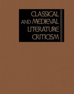 Classical and Medieval Literature Criticism - Zott, Lynn