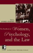 The Handbook of Women, Psychology, and the Law