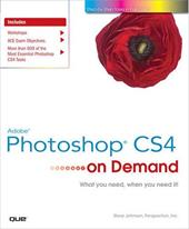 Adobe Photoshop CS4 on Demand - Johnson, Steve