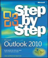 Microsoft Outlook 2010 Step by Step