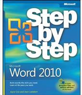 Microsoft Word 2010 Step by Step - Cox, Joyce / Lambert, Joan