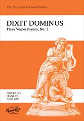 Dixit Dominus: Three Vesper Psalms, No. 1: Psalm 110 for Two Sopranos, Alto, Tenor & Bass Soli, SSATB, Strings & Continuo - Handel, George Frederick / Shaw, Watkins