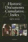 Historic Documents Cumulative Index 1972-2005