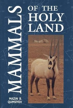 Mammals of the Holy Land - Qumsiyeh, Mazin