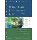 What Can One Person Do? - Global Equity Initiative Sabina Alkire