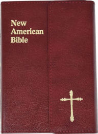 Saint Joseph Gift Bible, Personal Size Edition: New American Bible (NAB), burgundy bonded leather, magnet closure - Catholic Book Publishing Company