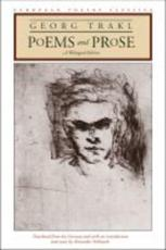 Poems and Prose - Georg Trakl