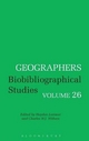 Geographers - Charles W. J. Withers; Hayden Lorimer