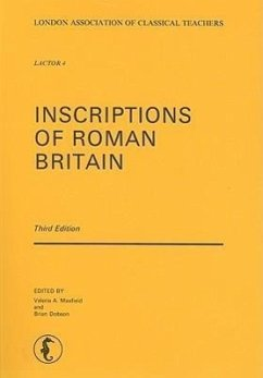 Inscriptions of Roman Britain - Warmington, B. H.