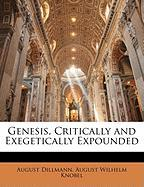 Genesis, Critically and Exegetically Expounded