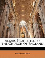 Altars Prohibited by the Church of England