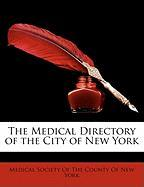 The Medical Directory of the City of New York