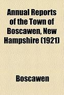 Annual Reports of the Town of Boscawen, New Hampshire (1921)