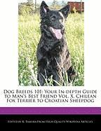 Dog Breeds 101: Your In-Depth Guide to Man's Best Friend Vol. X, Chilean Fox Terrier to Croatian Sheepdog