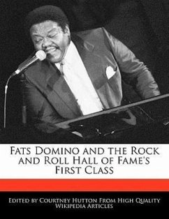 Fats Domino and the Rock and Roll Hall of Fame's First Class - Hutton, Courtney