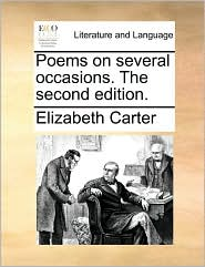 Poems on several occasions. The second edition. - Elizabeth Carter