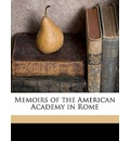 Memoirs of the American Academy in Rome Volume 27 - American Academy in Rome