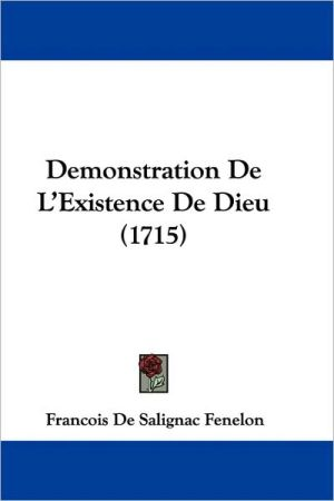 Demonstration de L'Existence de Dieu (1715)