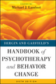 Bergin and Garfield's Handbook of Psychotherapy and Behavior Change - Michael J. Lambert