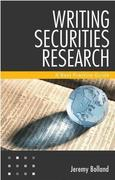 Jeremy Bolland: Writing Securities Research