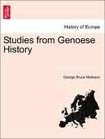 Studies from Genoese History - Malleson, George Bruce