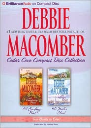 Debbie Macomber Cedar Cove CD Collection 2: 44 Cranberry Point/50 Harbor Street - Debbie Macomber, Read by Sandra Burr