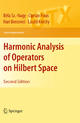 Harmonic Analysis of Operators on Hilbert Space - Hari Bercovici; Bela Sz -Nagy; Ciprian Foias; Laszlo Kerchy