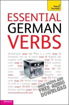 Teach Yourself: Teach Yourself Essential German Verbs - 3000 Verbs and Free Audio Download. Reference