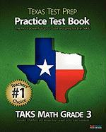 Texas Test Prep Taks Math Grade 3 Practice Test Book
