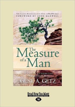 The Measure Of A Man (Large Print 16pt)