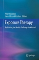 Exposure Therapy - Peter Neudeck; Hans-Ulrich Wittchen