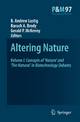 Altering Nature - B. Andrew Lustig; Gerald P. McKenny; Baruch A. Brody