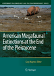 American Megafaunal Extinctions at the End of the Pleistocene - Gary Haynes