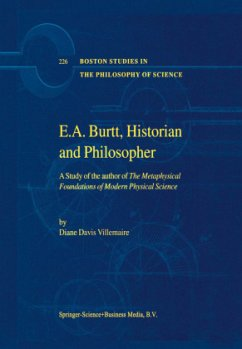 E.A. Burtt, Historian and Philosopher - Villemaire, D.