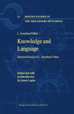 Knowledge and Language - Cohen, L. Jonathan